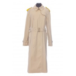 BURBERRY TRENCH LAPEL YELLOW