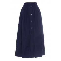 CHLOÉ POPLIN SKIRT COTTON POPLIN
