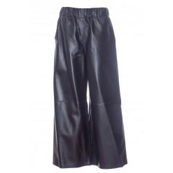 LOEWE SHORT LEATHER ELASTIC PANTS