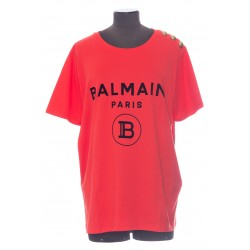 BALMAIN TSHIRT BALMAIN 3 BOUTONS