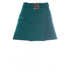 BALMAIN NEW B SHORT SKIRT