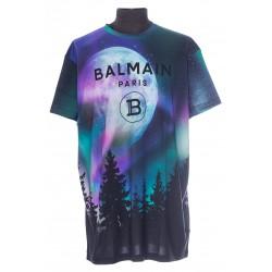 BALMAIN MULTICOLOR T-SHIRT