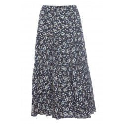 MARC JACOBS THE PRAIRIE SKIRT LONG PRINTED SKIRT