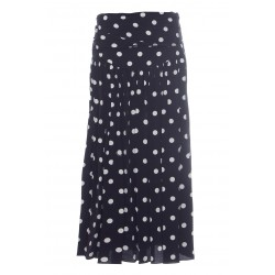 MARC JACOBS THE 80'S SKIRT LONG POLKA DOT SKIRT