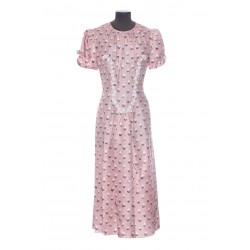 MARC JACOBS THE 40'S DRESS PRINTED MC DRESS