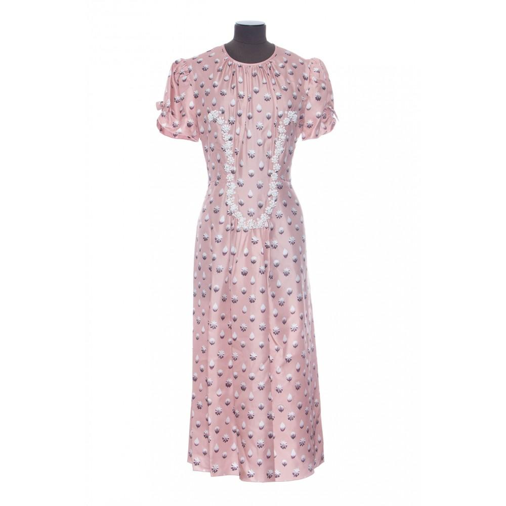 Marc Jacobs The 40 S Dress Printed Mc Dress
