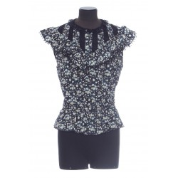 MARC JACOBS THE VICTORIAN TOP SS MANCHES IMPRIME