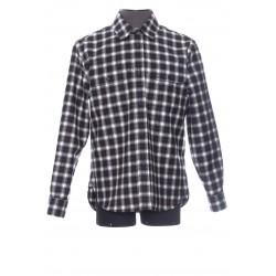 SAINT LAURENT TARTAN SHIRT