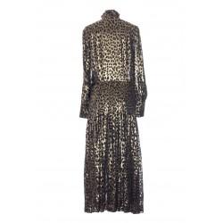 SAINT LAURENT LONG BLADE SHIRT DRESS
