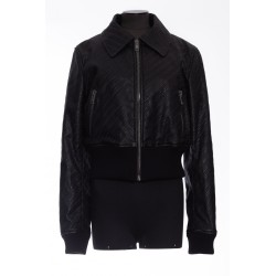 GIVENCHY,BLOUSON CUIR GIVENCHY CHAINES
