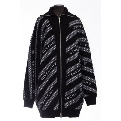 GIVENCHY OVERSIZE CHAIN ??CARDIGAN