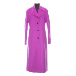 VALENTINO LONG CASHMERE COAT WITH COLLAR