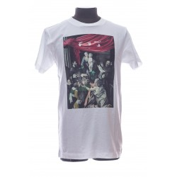 OFF-WHITE TSHIRT CARAVAGIO PAINTING ANGES