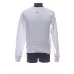OFF-WHITE SWEATSHIRT COL ROND ML