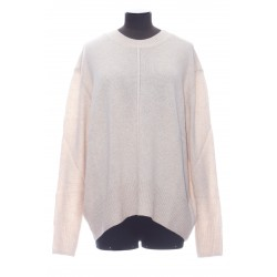 ISABEL MARANT DAVE PULL COL ROND OVERSIZE PURE CACHEMIRE