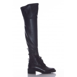 VALENTINO COMBAT BOOTS CUISSARDES LACEES