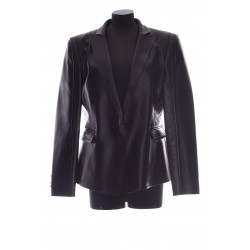 VALENTINO LEATHER BLAZER