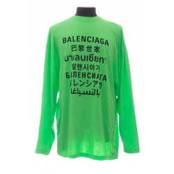 BALENCIAGA LANGUAGES MEDIUM FIT T-SHIRT