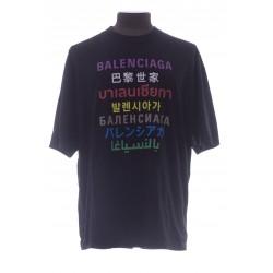 BALENCIAGA T-SHIRT FIT MEDIUM LANGUAGES