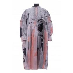 ALEXANDER MCQUEEN EXPLOSED POP DRESS
