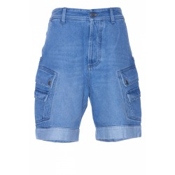 BALMAIN SHORT DENIM