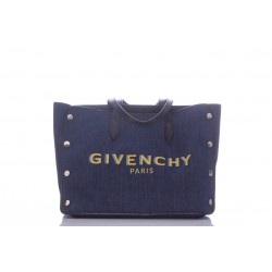 GIVENCHY MEDIUM BOND SHOPPER IN DENIM