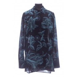 GIVENCHY FLORAL SCHEMATICS SHIRT IN SILK