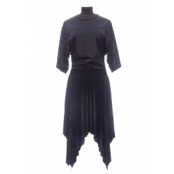 GIVENCHY GIVENCHY PLEATED VARNISHED DRESS