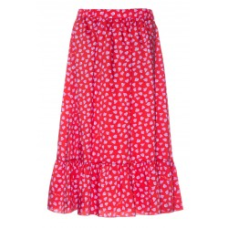 MARC JACOBS THE RUFFLE SKIRT 100% POLYSTER