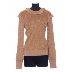 CHLOE CABLE-KNIT SWEATER