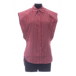ISABEL MARANT ENZA STRIPED SILKY S SHIRT
