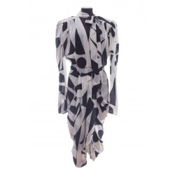 ISABEL MARANT ATOAE DRESS STRETCH SILK