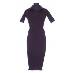 BOTTEGA VENETA DRESS WOOL LIGHT WEIGHT RIBS