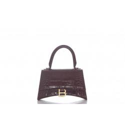BALENCIAGA WOMEN'S HOURGLASS SMALL TOP HANDLE BAG