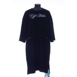 OFF WHITE LOGO COULISSE DRESS