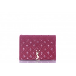 SAINT LAURENT BECKY MINI CHAIN BAG NOUVELLE TAILLE FINITIONS OR