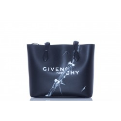 GIVENCHY WING SHOPPING BAG PRINTED LEATHER