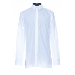 GIVENCHY WOVEN SHIRT 4G EMBROIDERED POPLIN