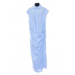 BALENCIAGA WRAP SHIRT DRESS