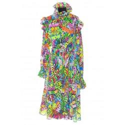 BALENCIAGA ONE SHOULDER DRESS