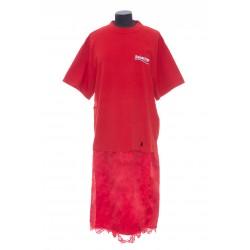 BALENCIAGA T-SHIRT SLIP DRESS