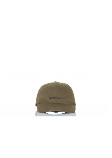 GIVENCHY CURVED CAP WITH EMBROIDED  LOGO TWILL